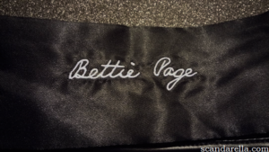Bettie Page Bad Girl Blackout Blindfold 6
