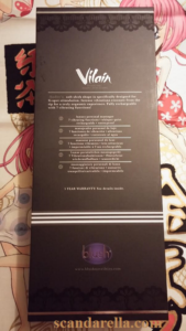 BLUSH NOVELTIES VILAIN AUDRE G SPOT VIBRATOR 8