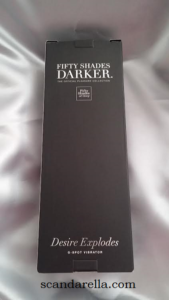 FIFTY SHADES DARKER DESIRE EXPLODES G-SPOT VIBRATOR 2