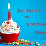 Scandarella's 1st Blogiversary Giveaway