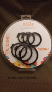 TANTUS SILICONE O-RING SET 1