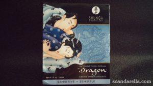 SHUNGA DRAGON SENSITIVE INTENSIFYING CREAM 1