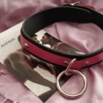 1 Ring Slave Collar with Locking Buckle