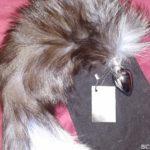 Furry Fantasy Black Fox Tail Butt Plug
