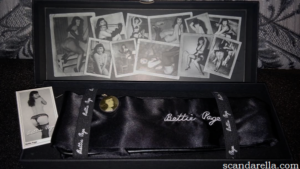 Bettie Page Bad Girl Blackout Blindfold 2