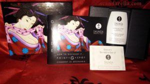 SHUNGA RAIN OF LOVE G-SPOT CREAM 2