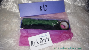 KINK CRAFT MINI FLOGGER KIT 1