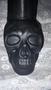 KEEP BURNING COCK SKULL DILDO 1