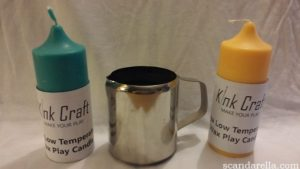 KINK CRAFT HOT WAX PLAY CANDLES & JUG 1
