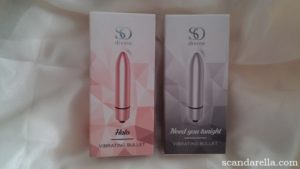 SO DIVINE VIBRATING BULLETS PACKAGING