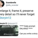 #StoryIn12 – Enlarge